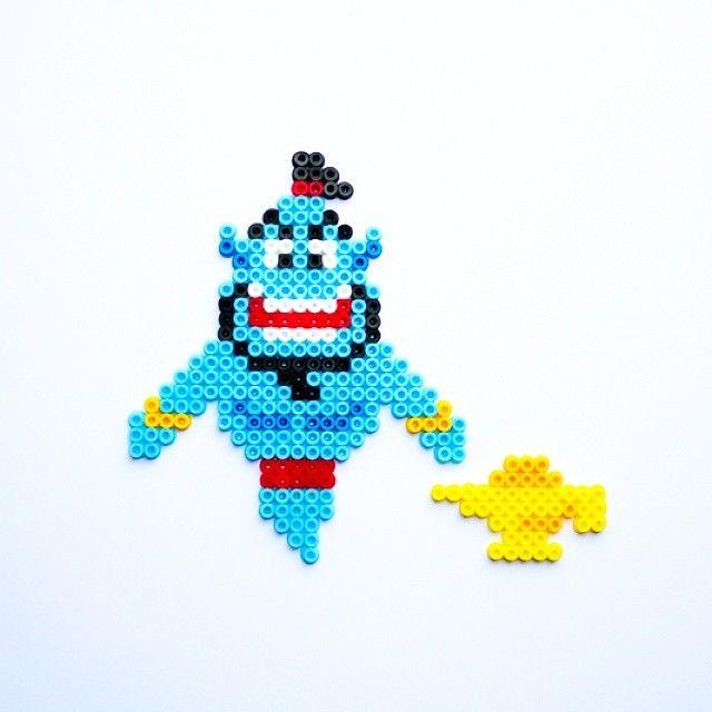 Genie Aladdin hama perler beads by Little Miss Productive