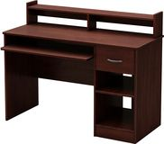 South Shore - Axess Small Computer Desk - Cherry (Red)