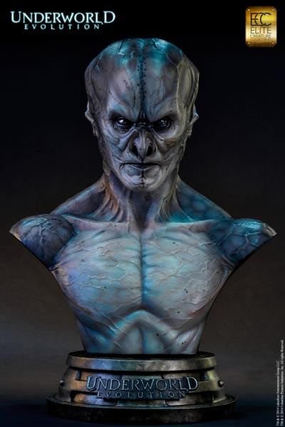Busto Marcus Corvinus, 71 cm. Underworld Evolution. Elite Creature Collectibles  Espectacular busto de 71 cm del personaje Marcus Corvinus basado en la película Underworld Evolution.