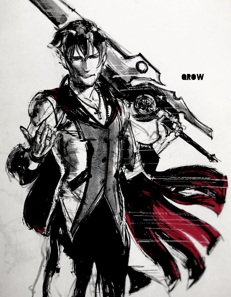 Qrow Branwen This is awesome art!