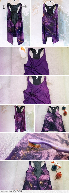 DIY Spray Bleaching for Tie-Dye Effect!