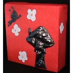 Pewter Art Picture Handcrafted by Hanli Barnard for R50.00