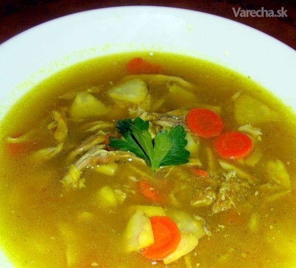 Vývar s kosťami z pečenej morky (fotorecept) - Recept