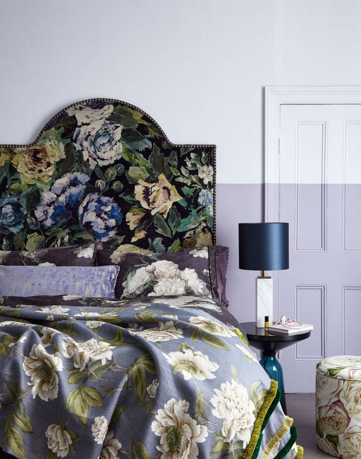 Go for oversized painted blooms to crack the floral trend with a modern twist.