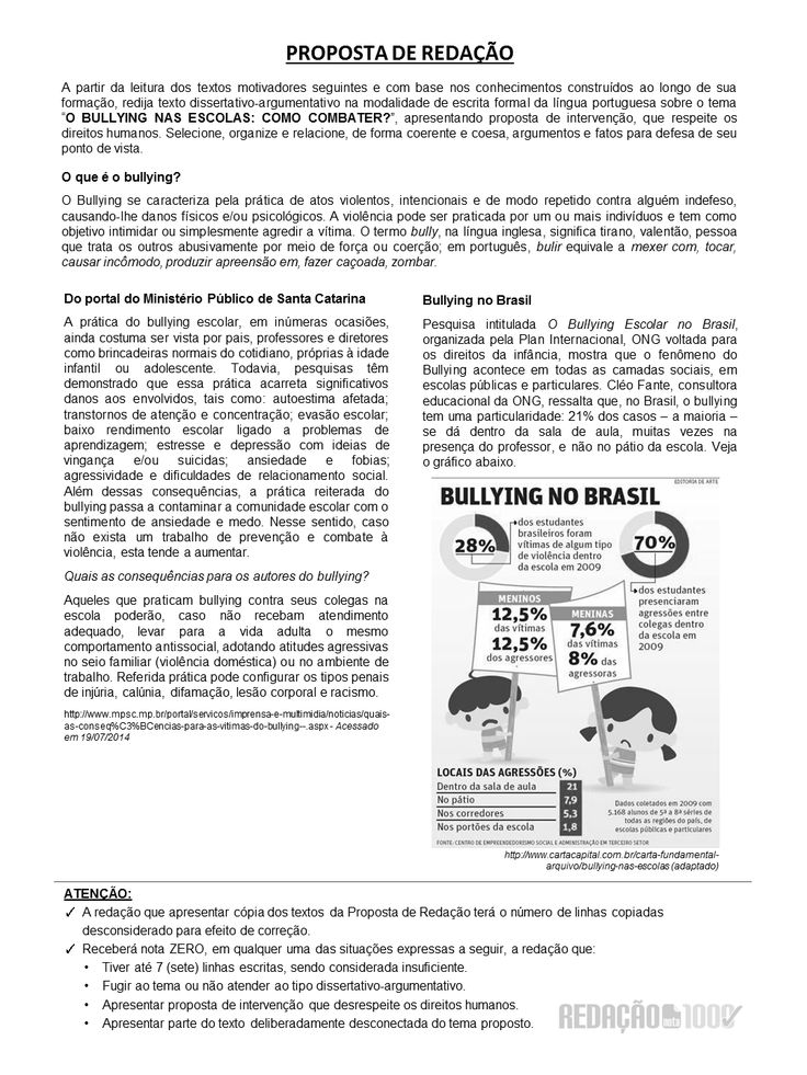 Redação Nota 1000 - Sob medida para o ENEM