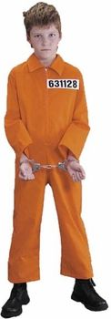 childs convict costume #ChildrensCostume #HalloweenCostume #Halloween2014