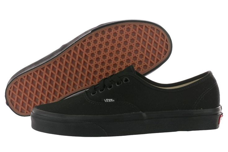 vans authentic all black ebay