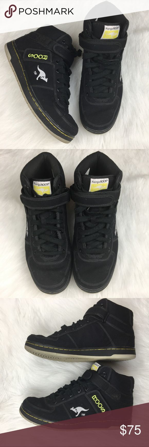 Kangaroos | men's Skywalker sneakers Rare/hard to find KangaROOS men's Skywalker sneakers. Very well made shoes with padded tongue and heel, Velcro loop closure, & well-made soles. Have small side pockets! Excellent condition. Kangaroos Shoes Sneakers