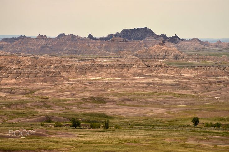 Badlands National Park - Badlands National Park in South Dakota.