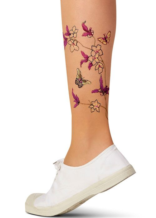 Le Bourget Tattoo Japonais Tights
