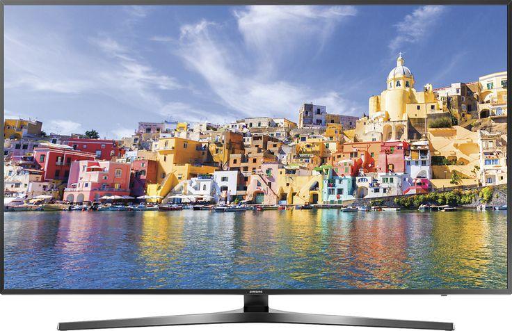 "Samsung - 43"" Class (42.5"" Diag.) - LED - 2160p - Smart - 4K Ultra HD TV with High Dynamic Range - Black"