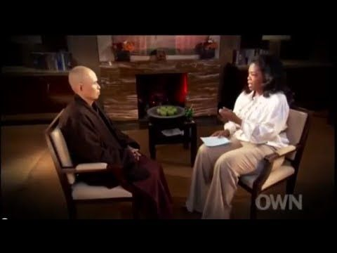 """Oprah Winfrey talks with Thich Nhat Hanh Excerpt - Powerful - Mantras - """"Darling I suffer - Please help me""""..."""