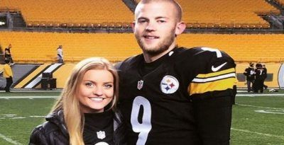Morgan Kauffmann is the girlfriend of Chris Bosswell former college football player at Rice University and current place kicker for the Pittsburgh Steelers