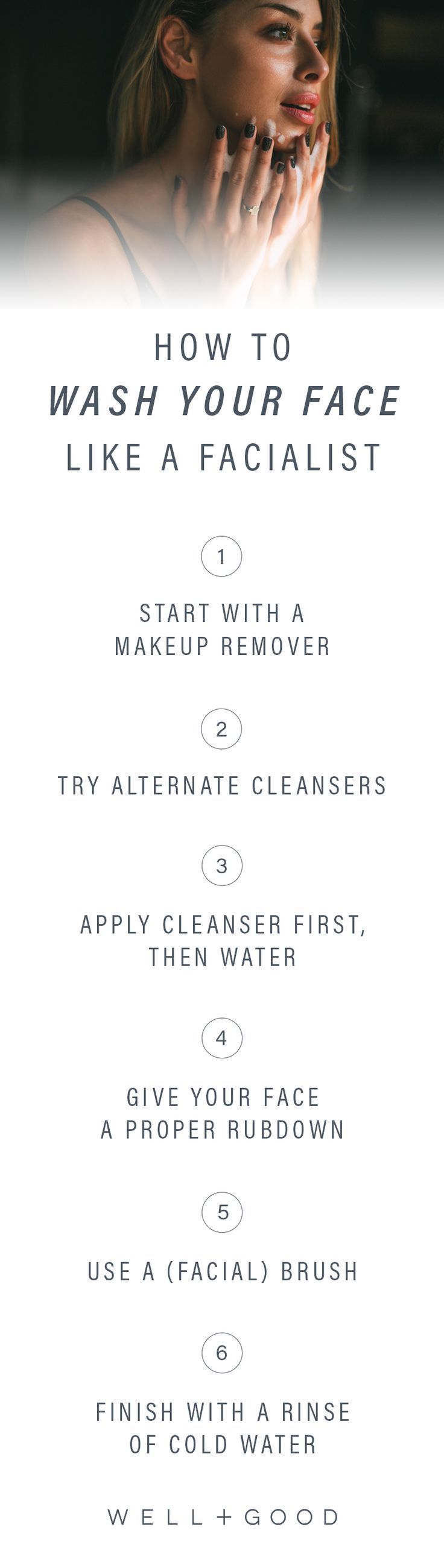 Tips for washing your face like a facialist