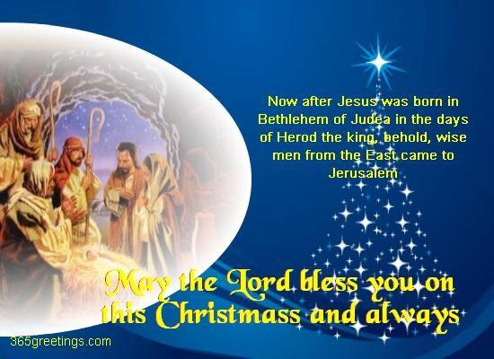 Christmas greetings | Religious Christmas Cards