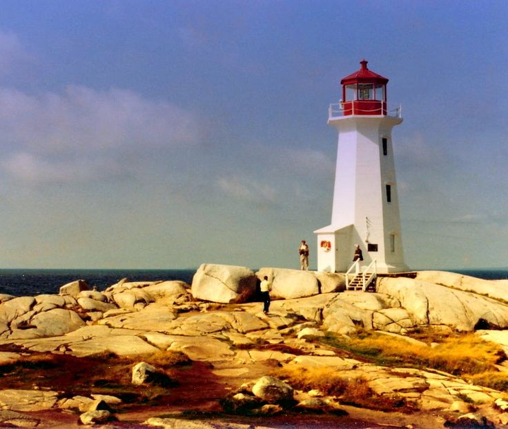 The lighthouse at Peggy's Cove. | 34 Reasons The Maritimes Is The Best Place On The Planet