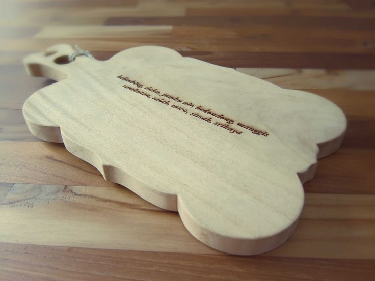 Wooden chopping board by MataTimur