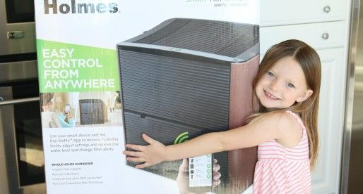 Get ready for winter with Holmes® Smart Humidifier enabled with WeMo™