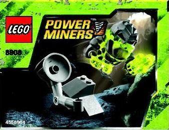 LEGO Power Miners Exclusive Mini Figure Set #8908 Monster Launcher