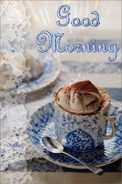 Good morning, Gif, Cup