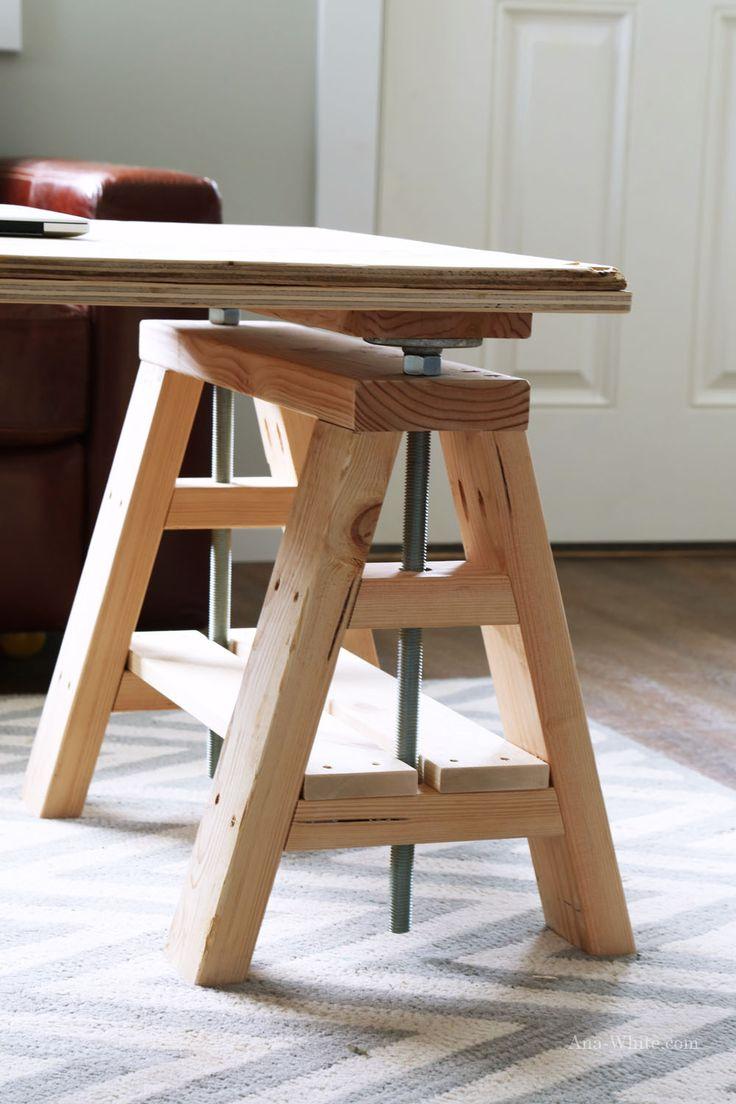 Modern wood furniture plans - Best 25 Woodworking Desk Plans Ideas On Pinterest Build A Desk Cheap Office Desks And Diy Desk