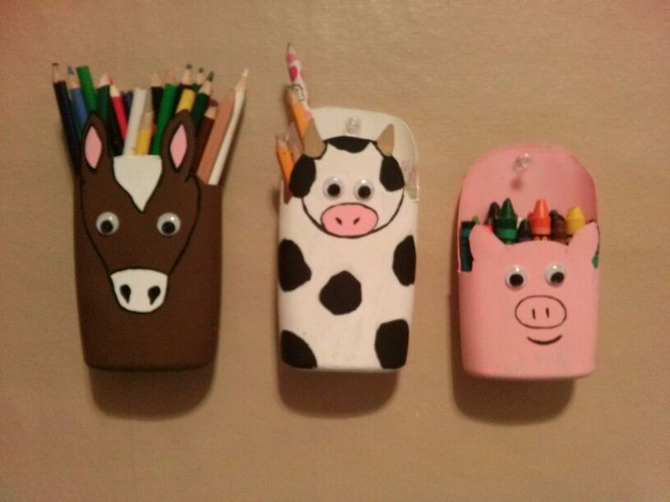 Diy Shampoo Bottle Kids Art Containers