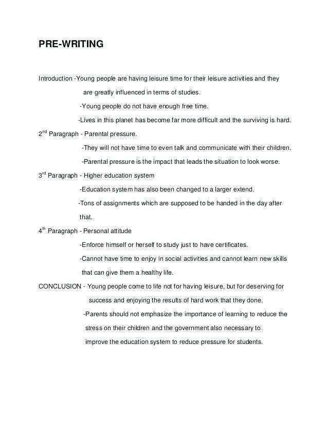 Simple essays in english
