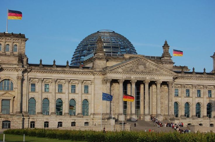 The Plenary Building in the Converted Reichstag Berlin / Germany / 1999