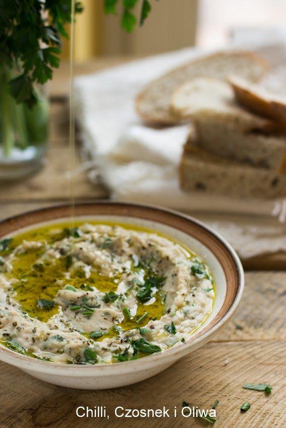 Chilli, Czosnek i Oliwa   blog kulinarny: Prowansalski dip z białej fasoli