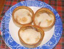 Mince Pies.  These are best served with HP sauce and Heinz baked beans.
