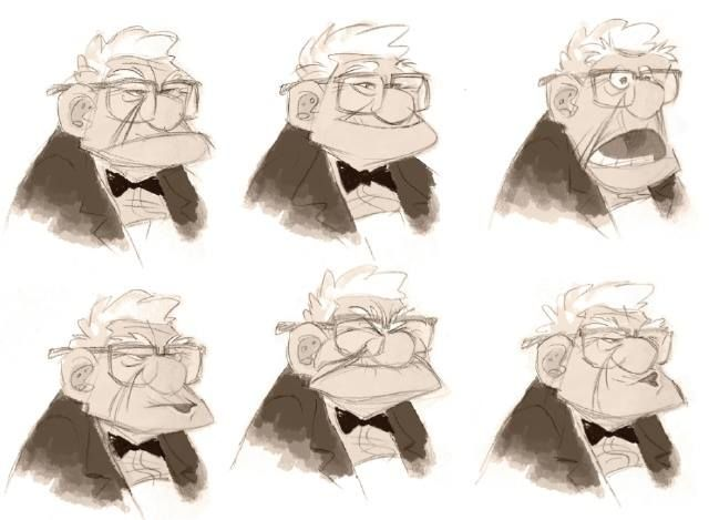 Character Design Sheet Pixar : Best character design old man images on pinterest
