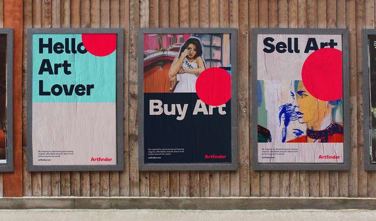 Artfinder by DesignStudio — The Brand Identity