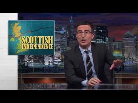 Video Licks: Watch 'Last Week Tonight's' Report on the Scottish Independence Vote | Comedy Cake