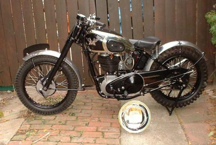 matchless motorcycles | 1948 Matchless G80C Classic Motorcycle Pictures