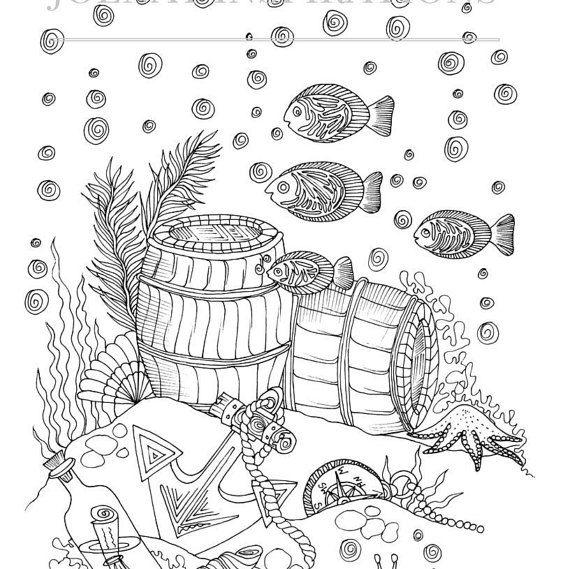 Adult Coloring Book Printable