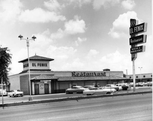 Vintage photo:  El Fenix, Dallas, Texas by coltera, via Flickr