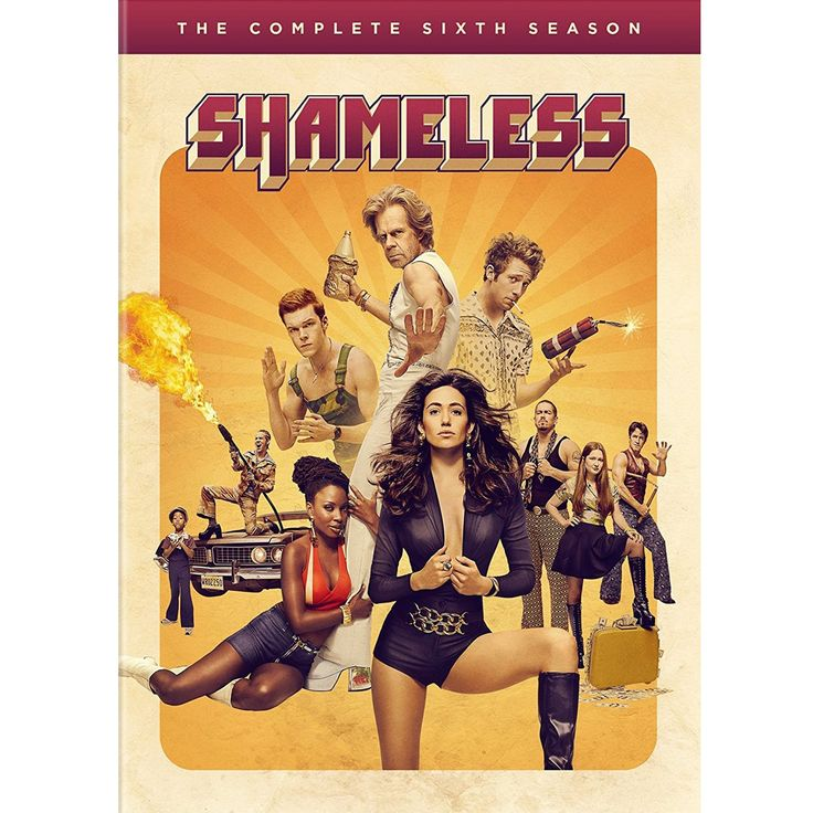 Shameless Season 6 (DVD)