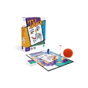 Hasbro Taboo Board Game: Amazon.co.uk: Toys & Games