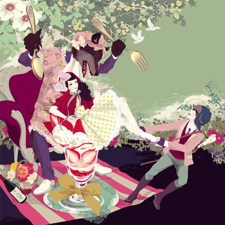Red Riding Hood - 赤ずきん