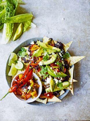 Mega veggie nachos   Jamie Oliver
