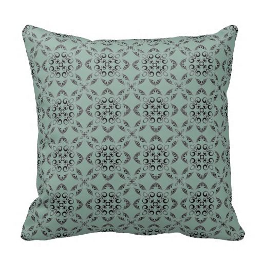 Throw Pillow Color Combinations : Stratton Blue Decorative Throw Pillow Color schemes, Decorative throw pillows and Colors