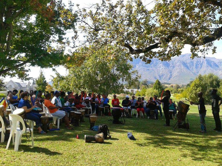 UWC Teambuilding Event held at Kleine Zalze.
