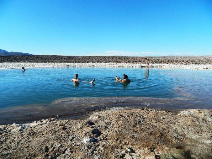 Lagoons. Atacama desert. Chile