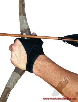 Archery Bow Glove #ravenswoodleather