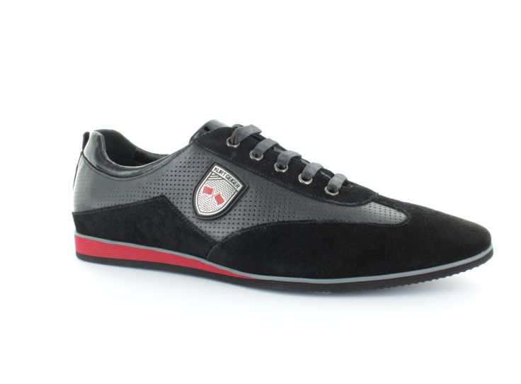 PERF LTH WINGTIP SNEAKER WITH EVA SOLE R1,395