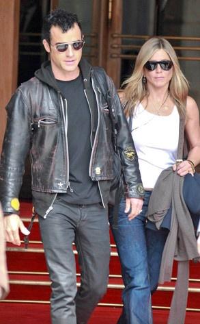 Jennifer Aniston & Justin Theroux,: Photos, Jennifer Aniston, Justin Theroux, Celebrity Photo S