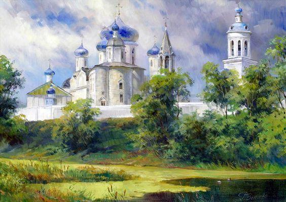 Боголюбовский монастырь.