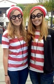 dress up as twins for spirit day or halloween - Google Search