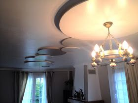 Dressing sous-pente avec rideaux et autres déco: Comment cacher un fil électrique au plafond?