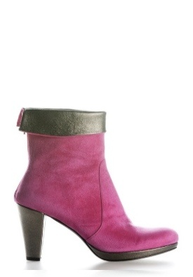 Boot Short City Pink/Bronze by Colette Sol